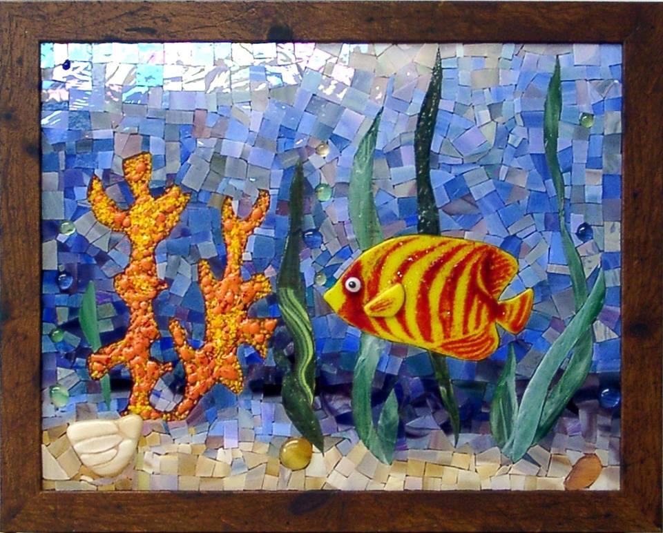 """Seabed"" by Nataliya Guchenia Size - 14""H X 11""W $600.00"