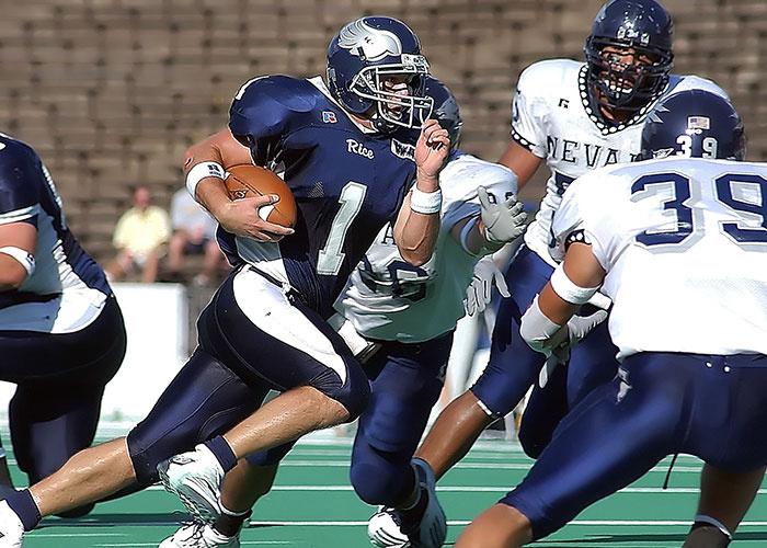 Football Quarterback Running Back