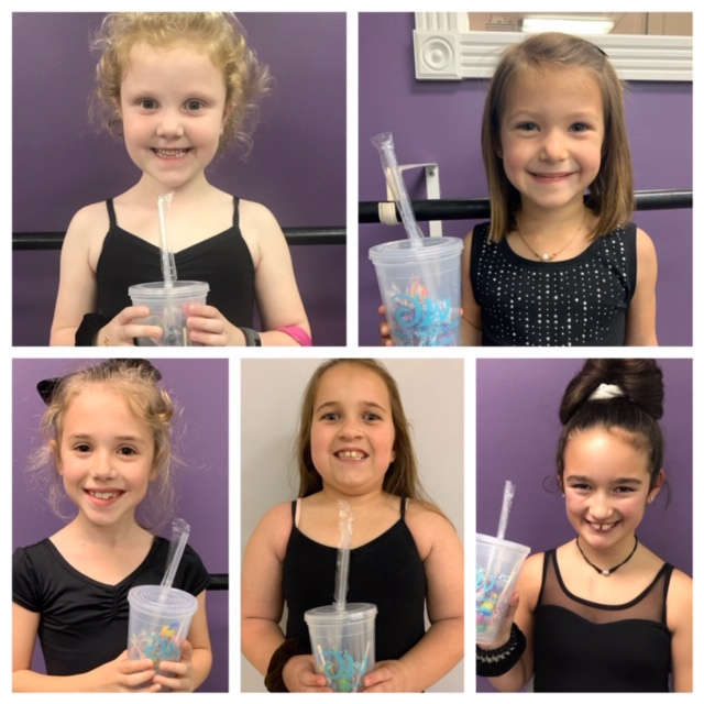 January Spotlight Students Ava Smith Stella Davis Caroline Scelfo Azalie Crain Layla Wichterich