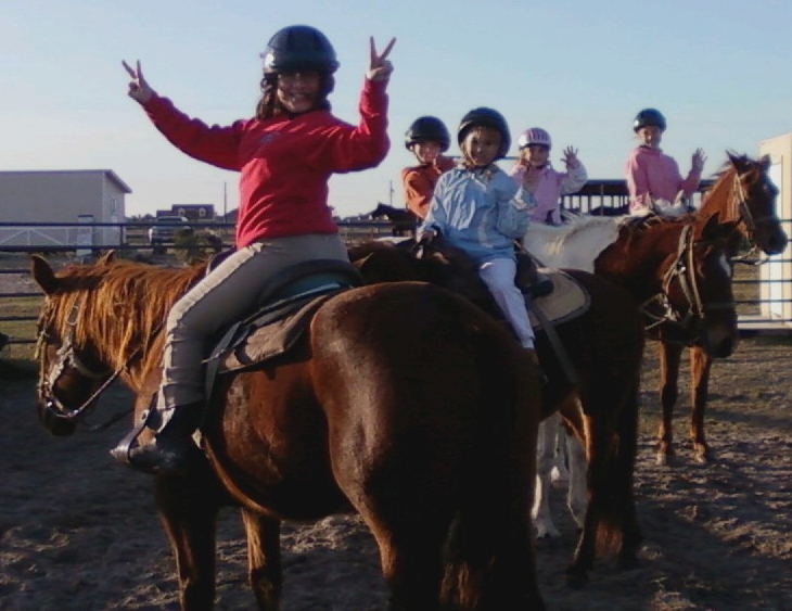 Kids Horse Riding