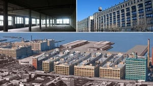 MTA Archives Facility Industry City, Brooklyn, New York    An approximate 40,000 sf archive/storage facility in the Industry City Complex in Brooklyn, New York.   A complete renovation/ upgrade/modernization for Landlord, Jamestown Properties.