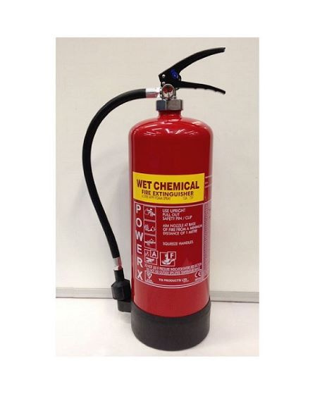 6lt Wet Chemical Fire extinguisher