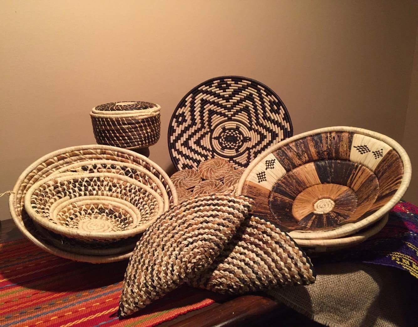 Ugandan Baskets  by Noel  $24 each
