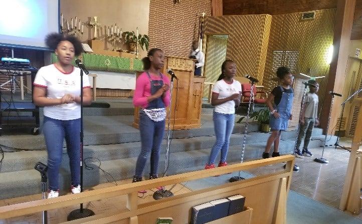 Young Eagles Praise Team