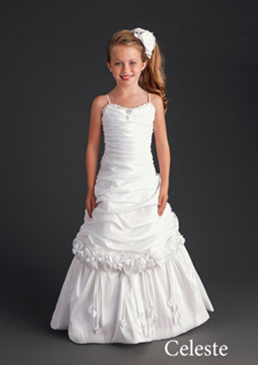 celeste flower girl dress
