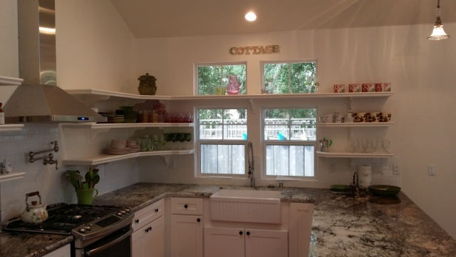 Revamped Kitchen Area