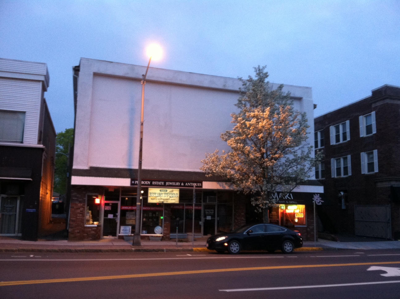 Peabody, MA - Downtown Commercial Building