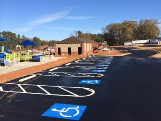 Paving & Striping - New Construction
