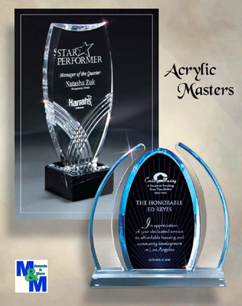Acrylic Awards Click for catalog
