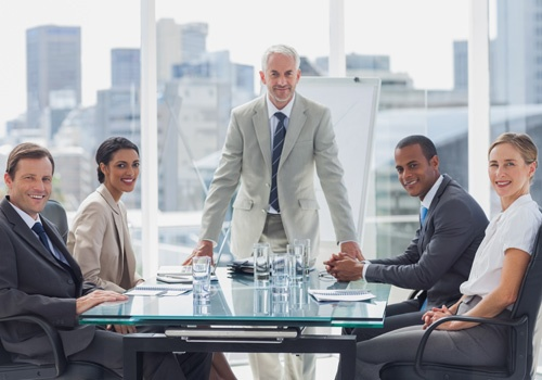Business People in the Meeting Room