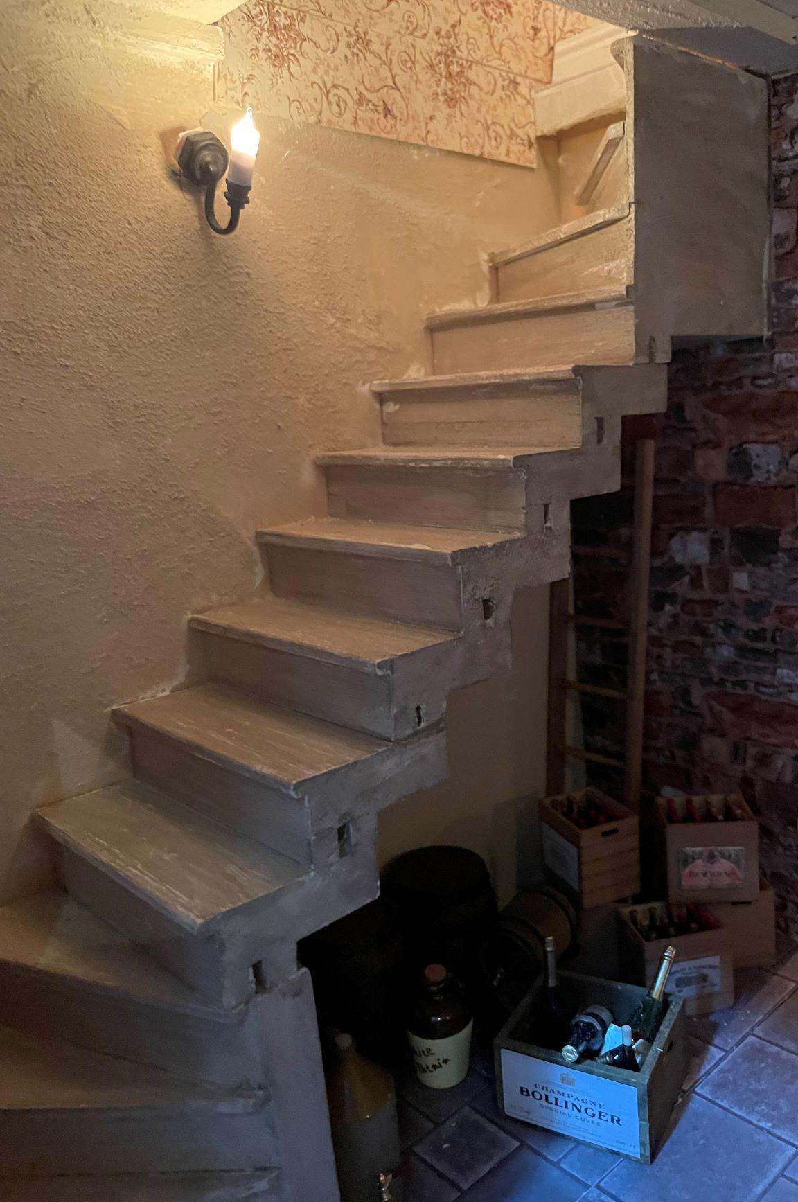 Backstairs to Grand Salon