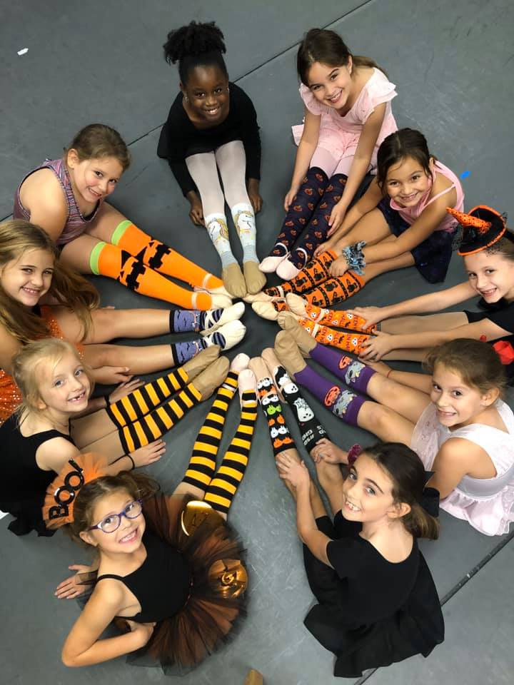Silly Scary Sock Week!