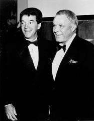 Tom Dreesen and Frank Sinatra