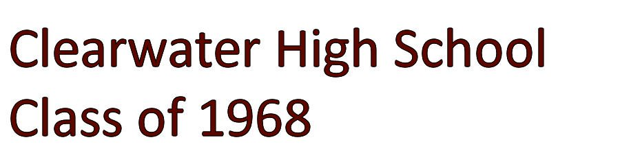 Clearwater High School Class of 1968