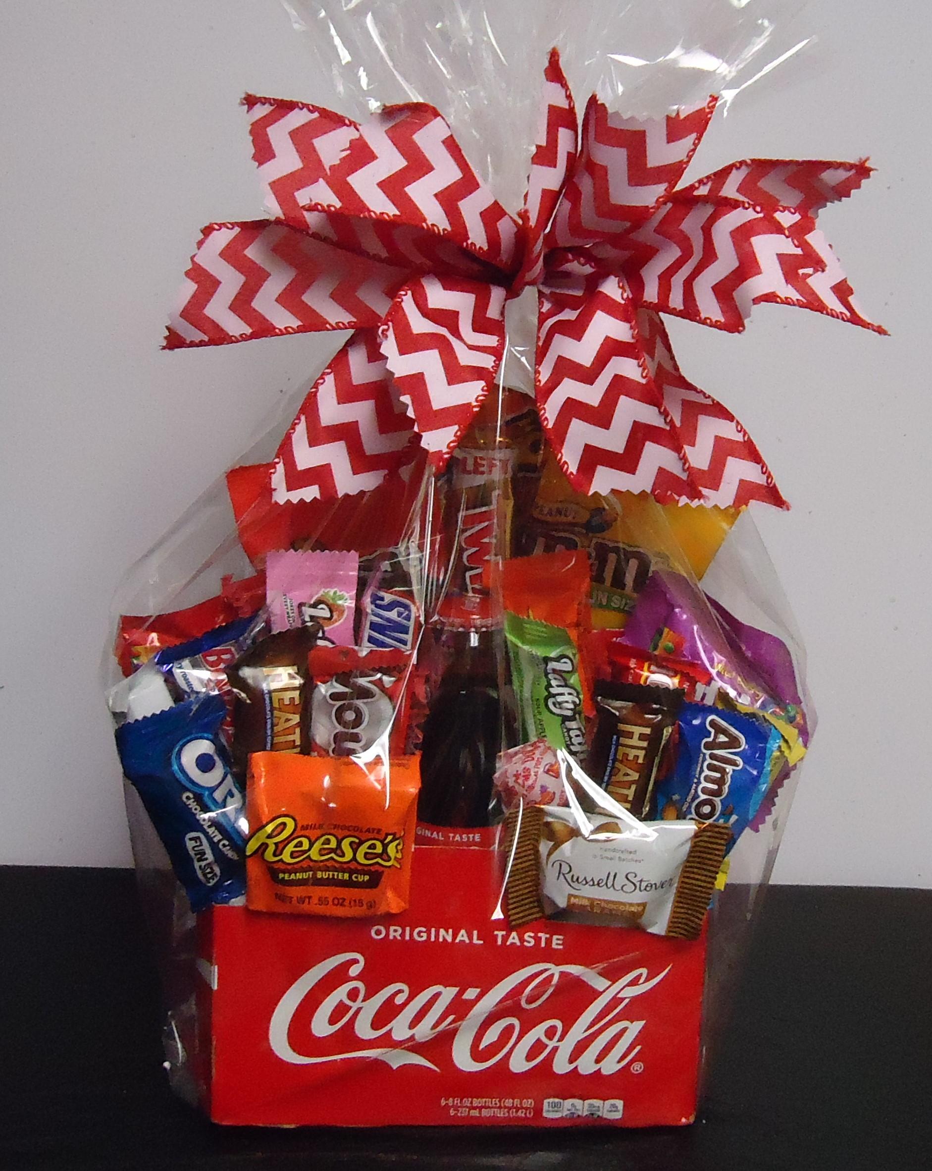 "(26)  ""Coke"" Drink Box W/ Candy $35.00"