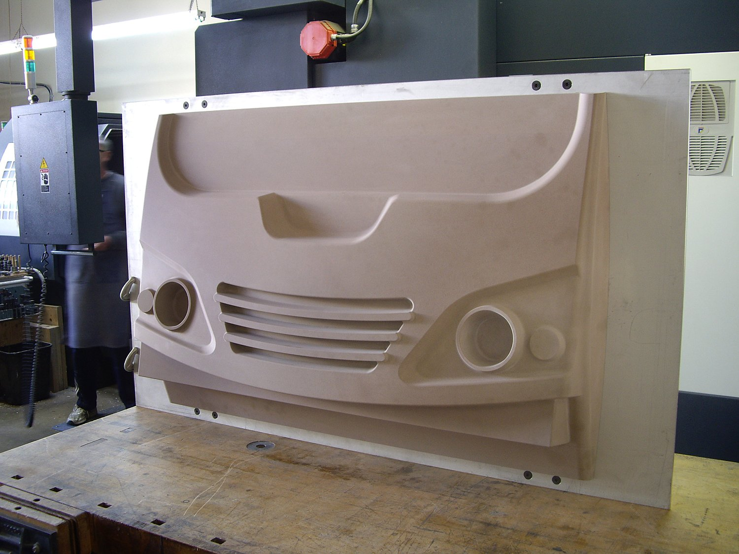 Thermoforming Vacuum Mold