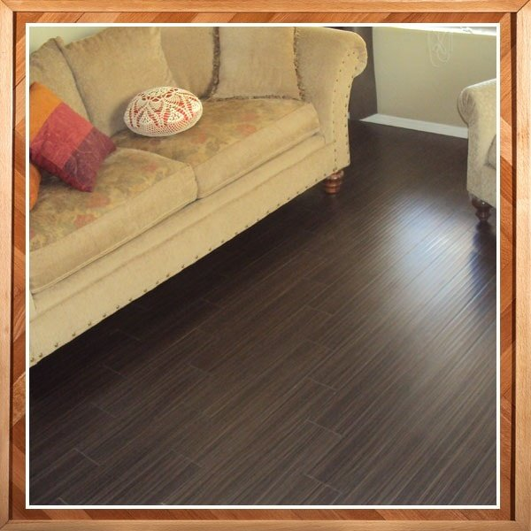 Brown Hardwood Floor