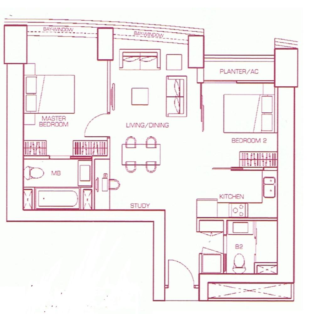 Two Bedroom Suite Type B