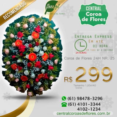 Coroa de flores brasilia df