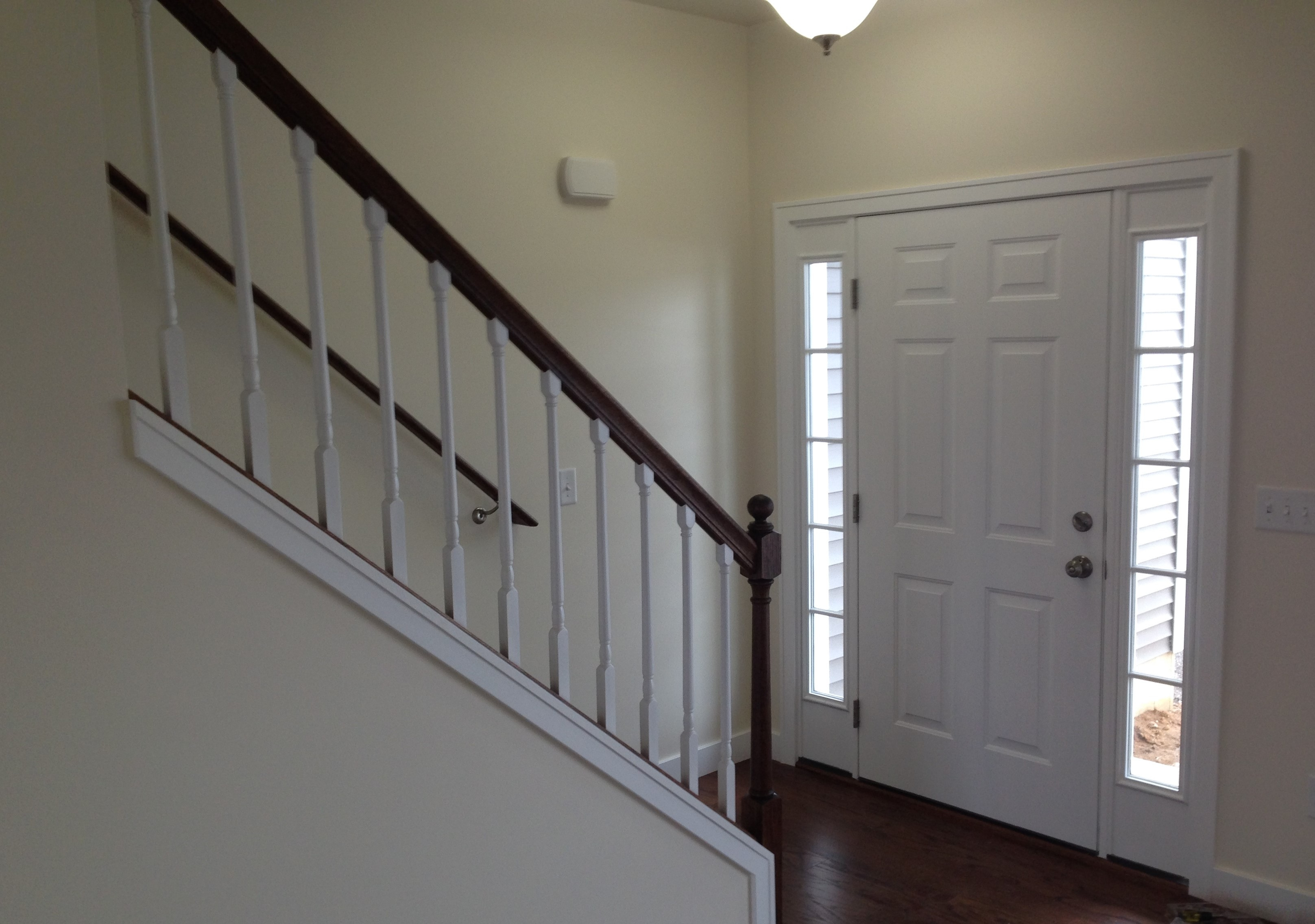 Staircase and Entryway