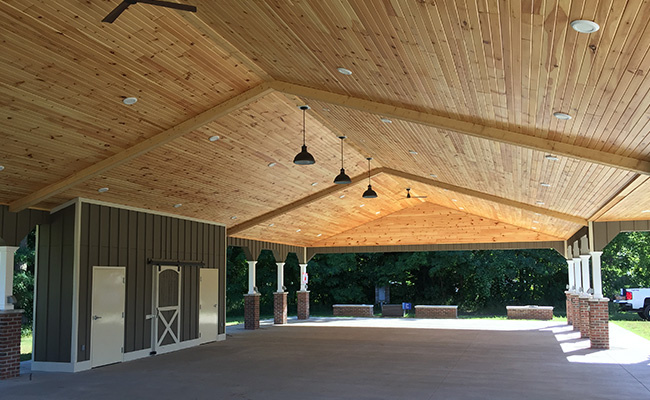 Grass Lake Events Park Pavilion