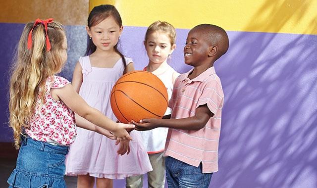 Basketball in Kindergarten