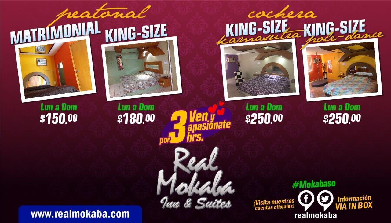 Real Mokaba S.A. de C.V. - Cuarto por 3 horas
