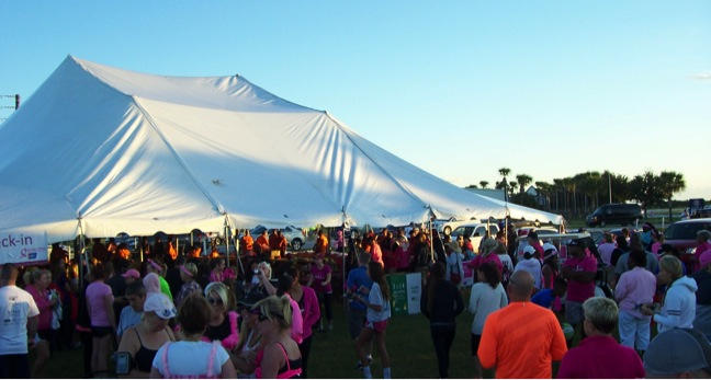 Thousands at the Breast Cancer Walk in Need of the Gospel