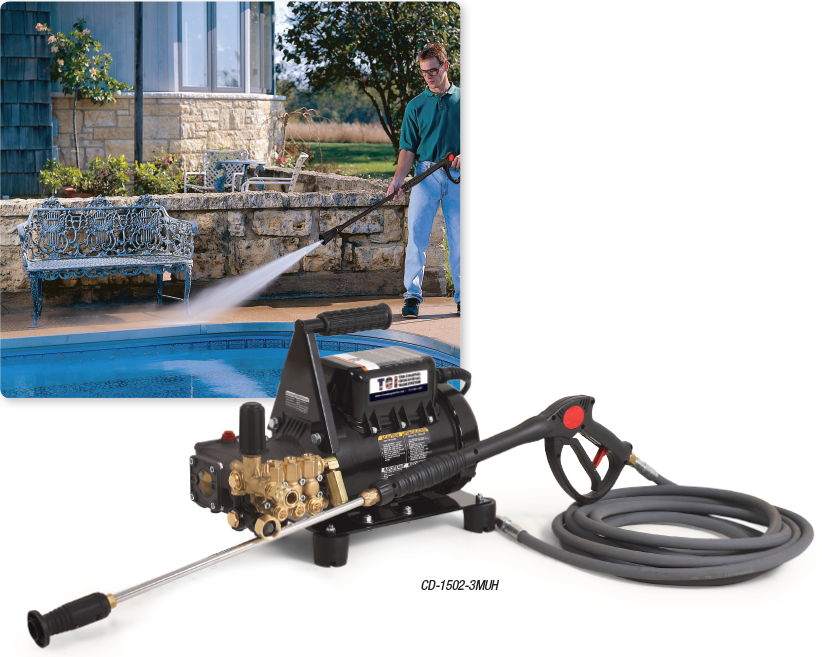 CD Series Electric Direct Drive COLD WATER PRESSURE WASHERS