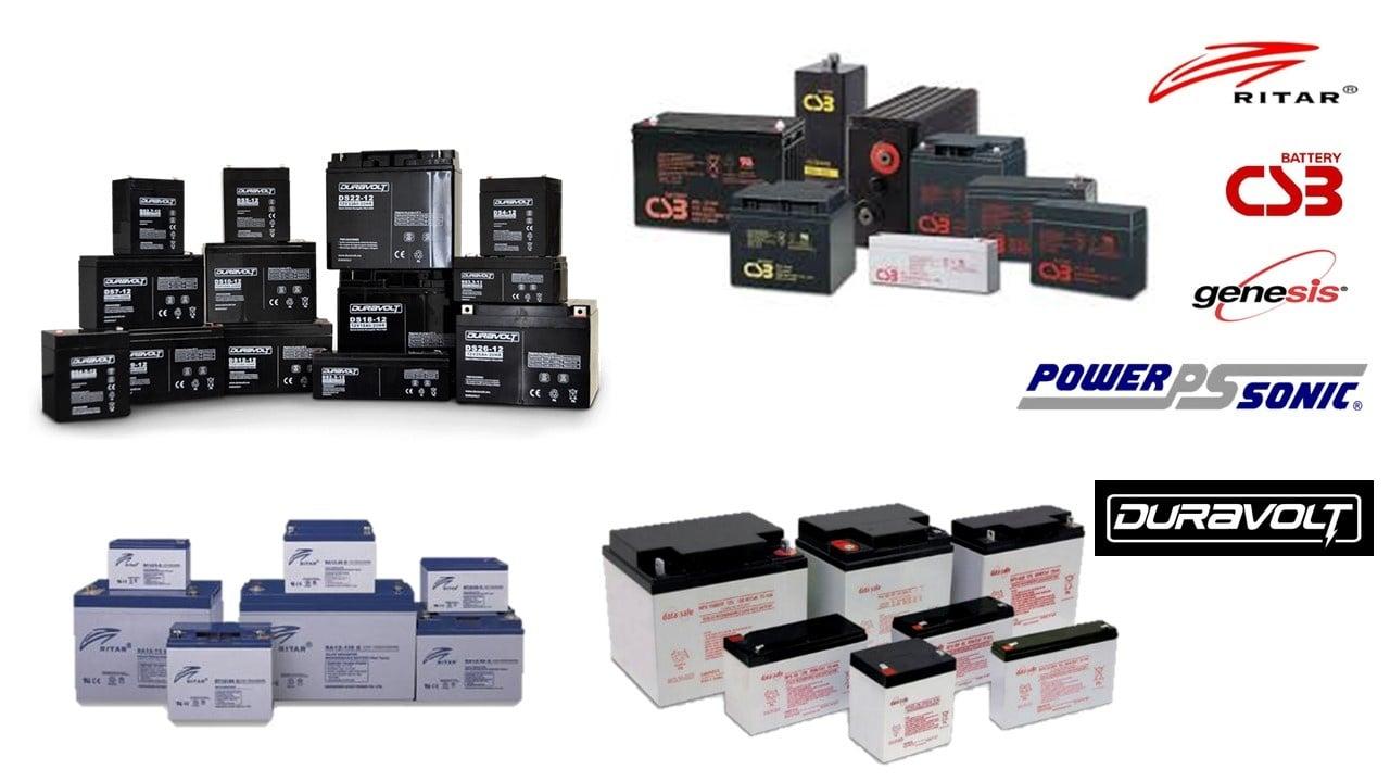 baterías de remplazo para UPS, nobreaks
