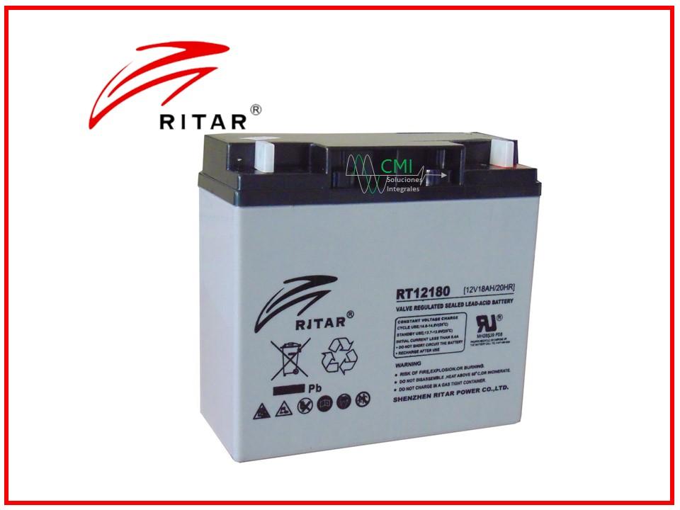 Batería ritar 12180
