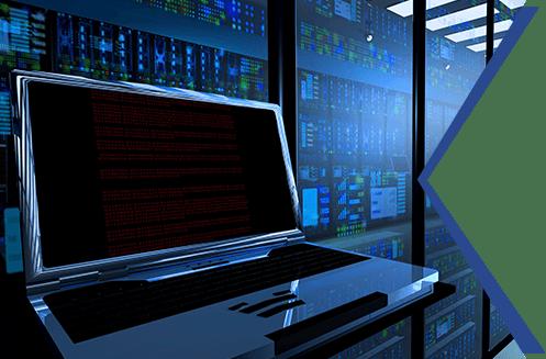 Monitor in Server Room