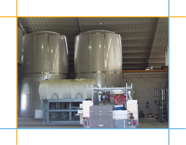 Vertical Milk Tanks