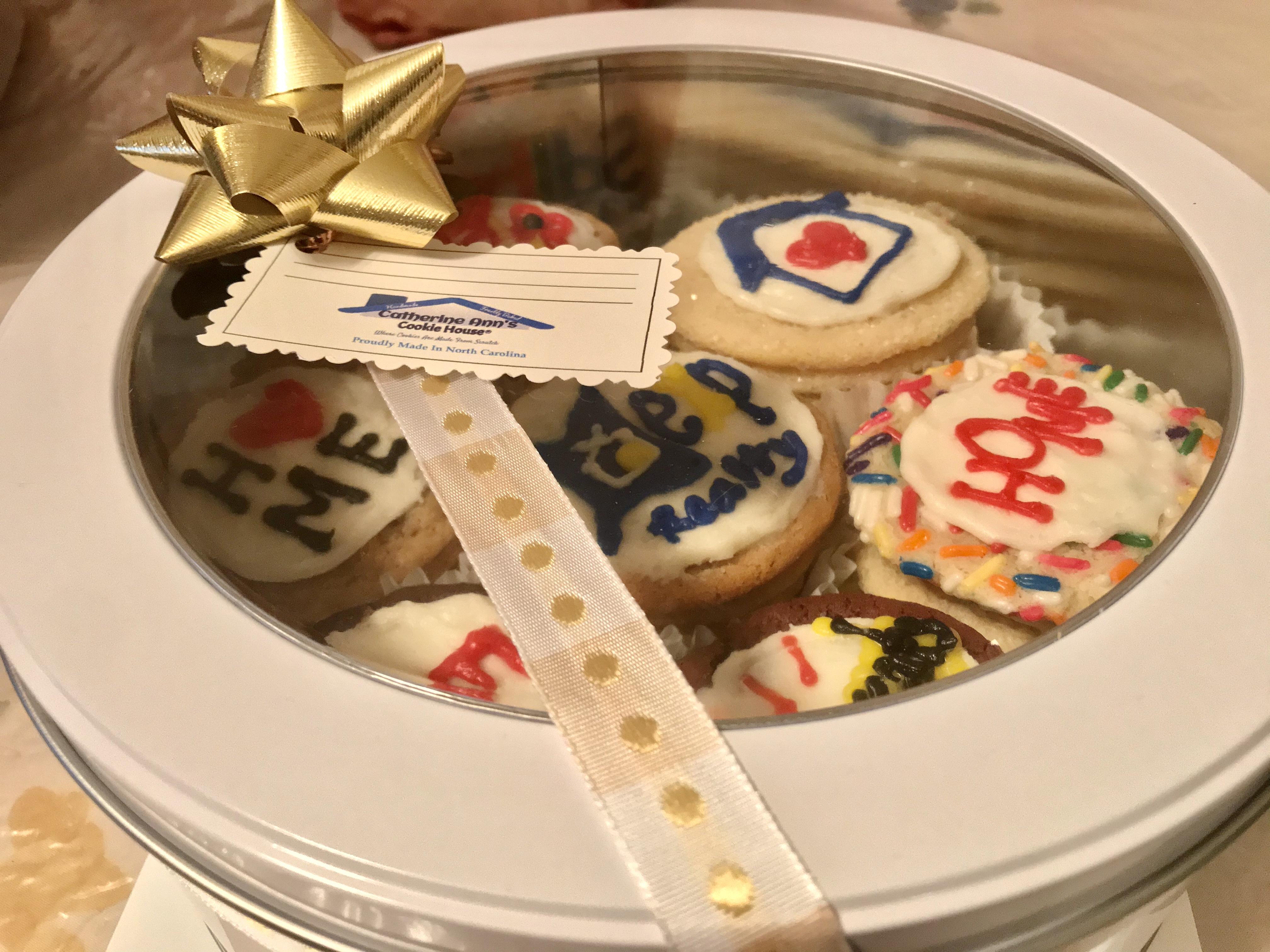 Gourmet Cookies in Container