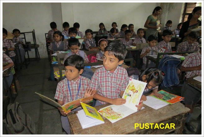 Children in classroom||||