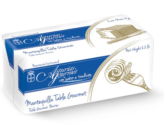 63  |  Asturias Gourmet Table Caja de 10 kg (10 barras de 1 kg) Sobre pedido
