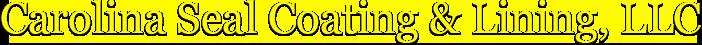 Carolina Seal Coating & Lining, LLC