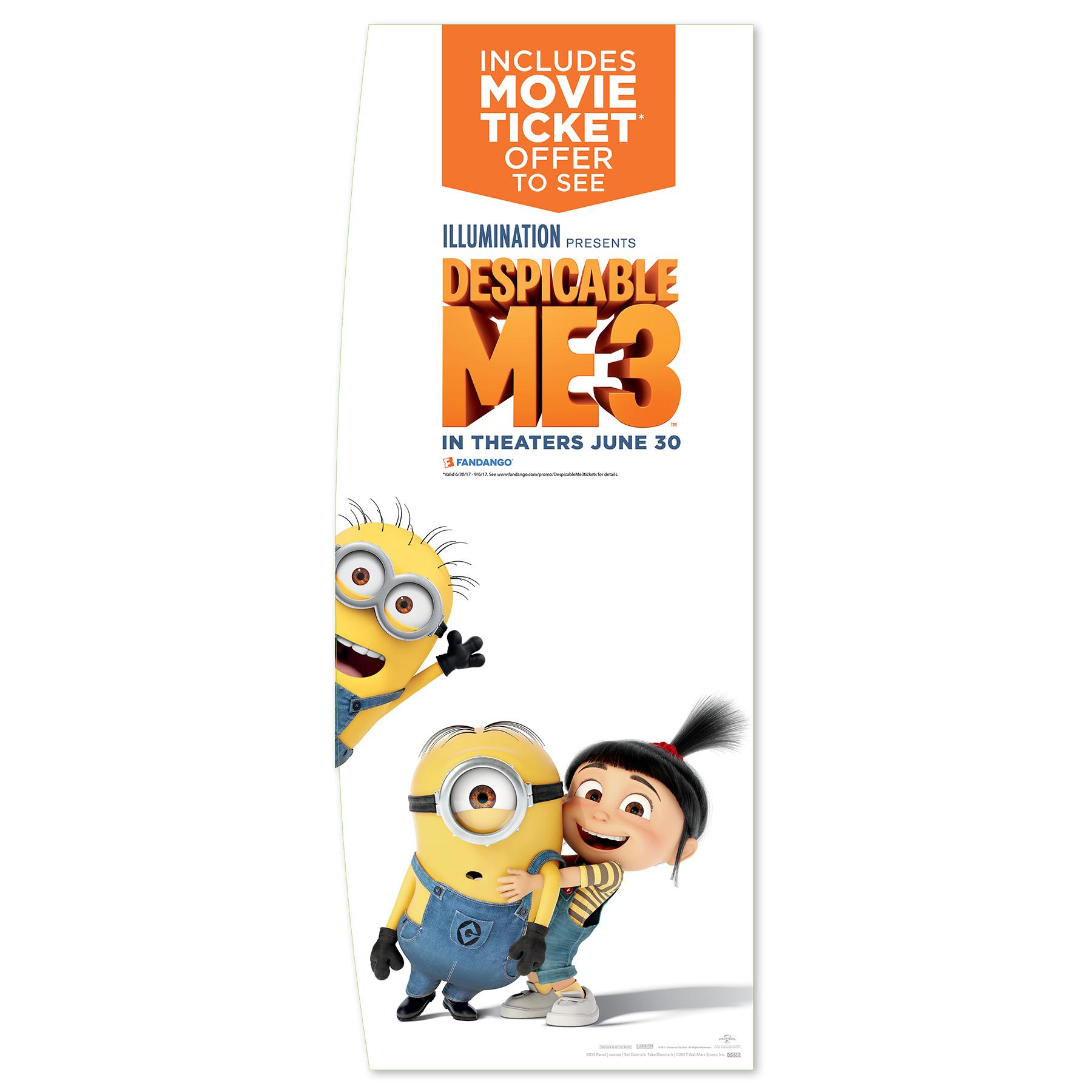 Despicable Me 3 Movie Cash Sign