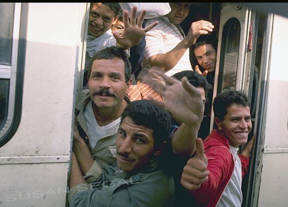 Boys on a Bus - Cairo, Egypt