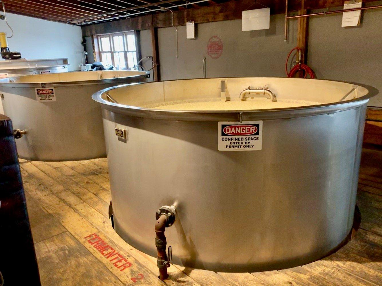 Kentucky Peerless Distilling - Fermenters