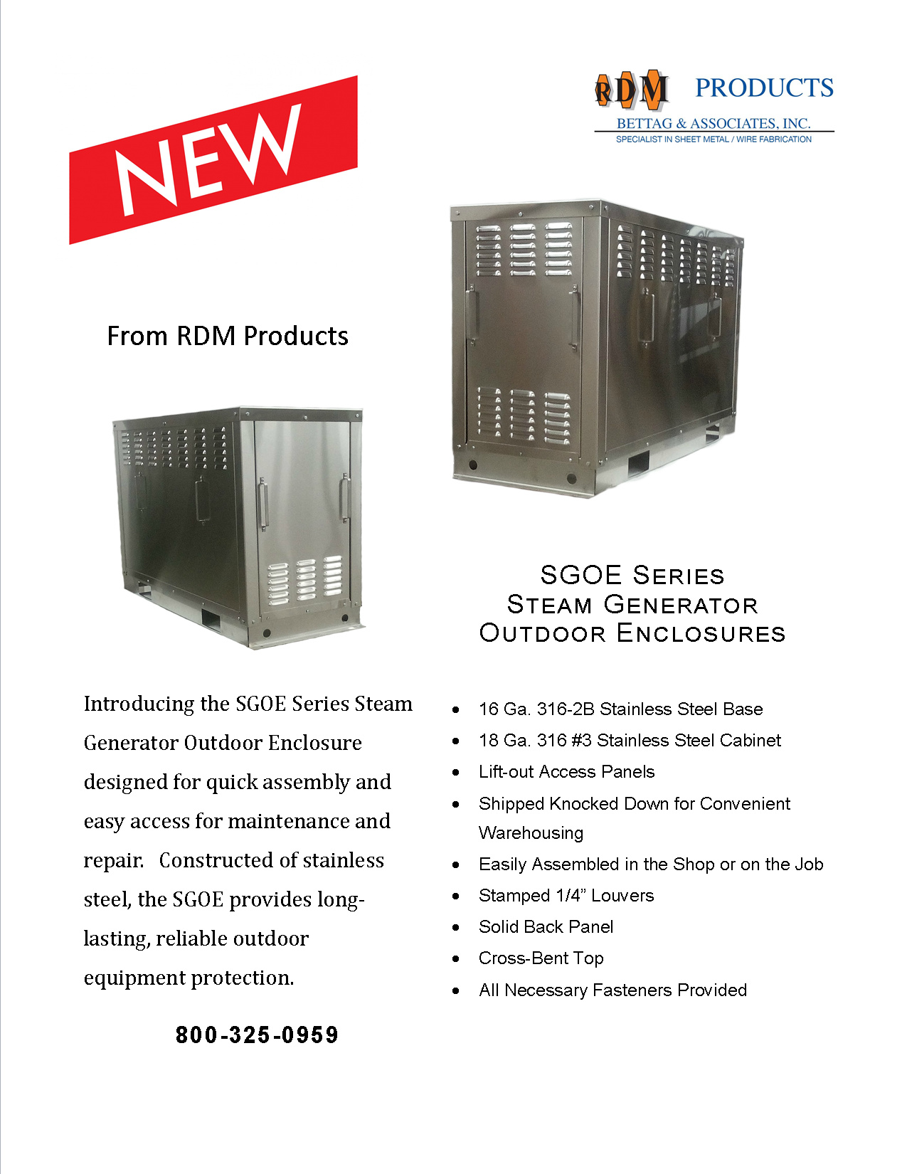 Steam Generator Outdoor Enclosures