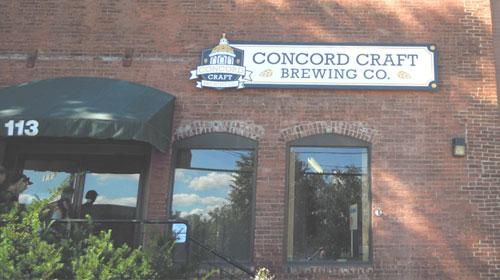 Craft Brewery Exterior