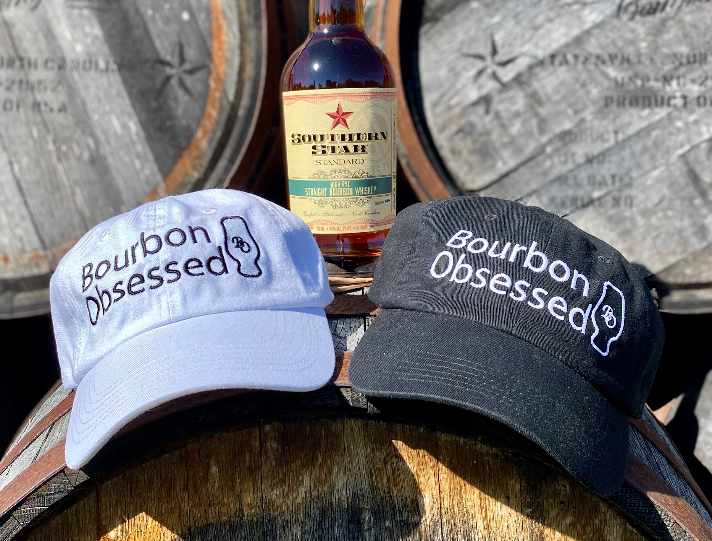 Bourbon Obsessed Hats