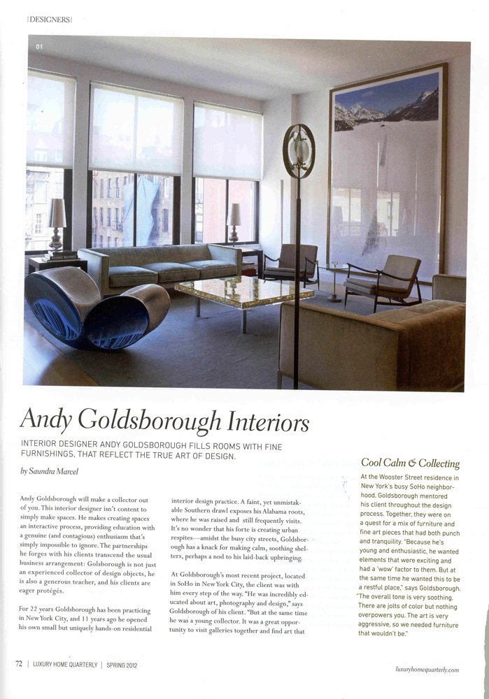 AG Interiors Article