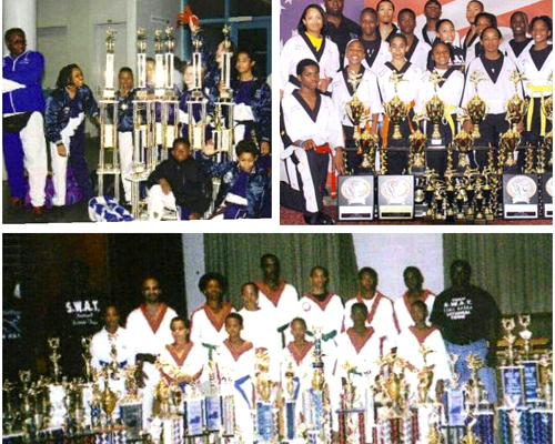 National Karate Competition Team