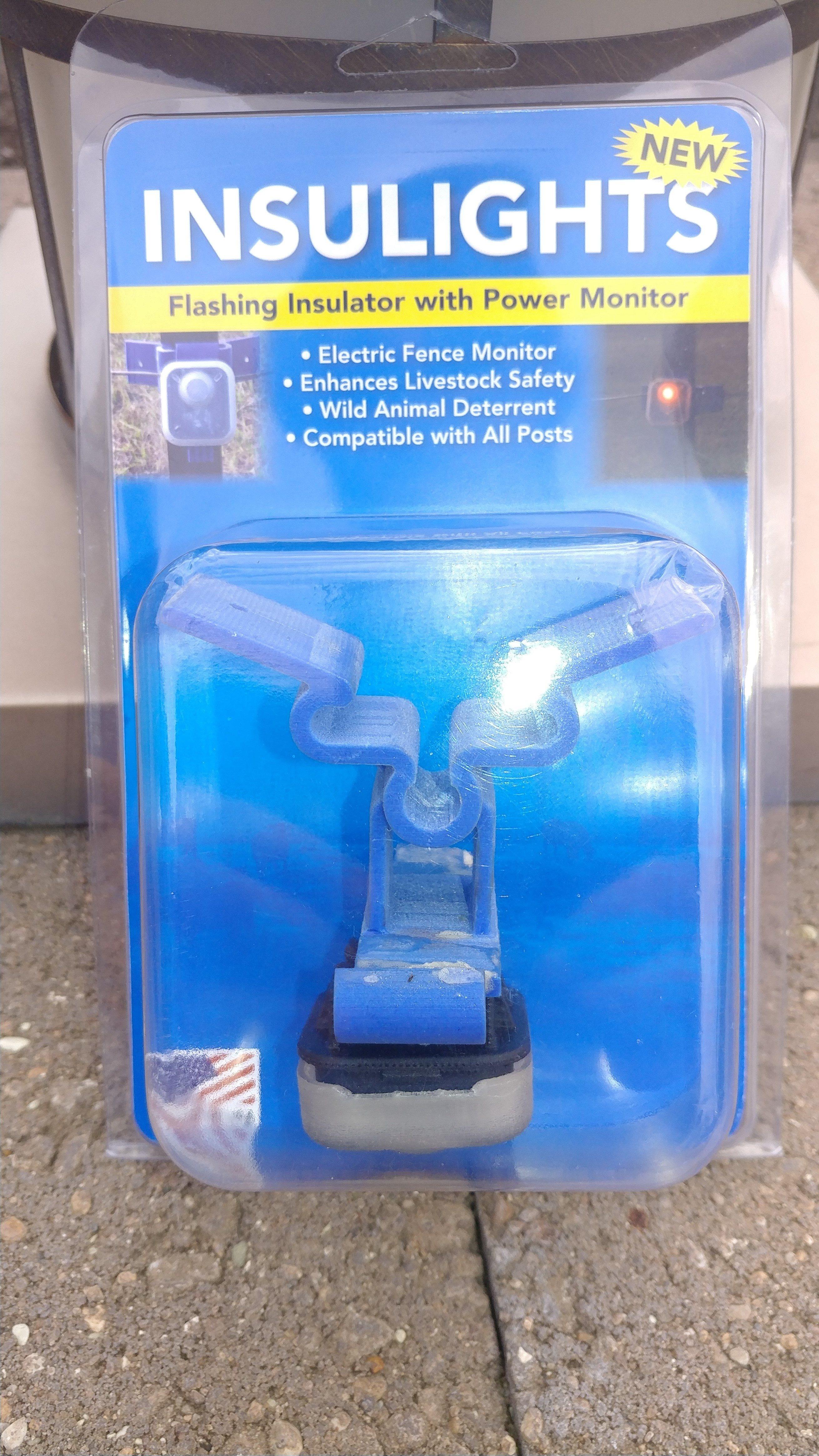 New Flashing Insulator