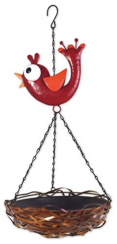 Red Bird Feeder