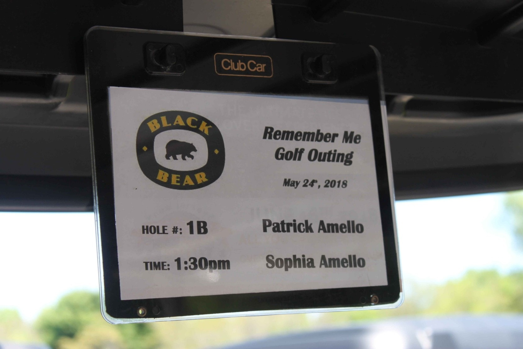 Club Car Tag