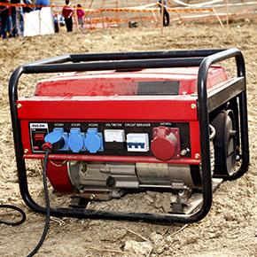 Gas Powered Machine