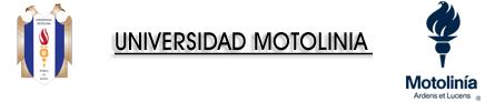 UNIVERSIDAD MOTOLINÍA